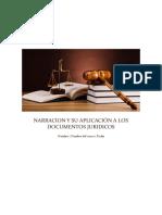 Narracion y Su Aplicación a Los Documentos Juridicos
