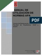 Manual de Utilización de Normas APA