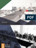 Plan de Fortalecimiento y Asistencia Tecnica OIT al CNTPE