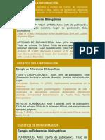 Ejemplos de Normas APA Y Estudio Del Arte