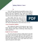 ترجمة مكافحة سرطان الأطفال.doc.doc