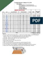 VC Kitchen Price List 20180612