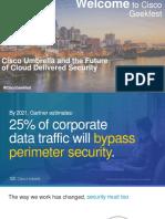 Cisco Umbrella - Future of Cloud Security