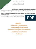 4L'Amortissement 2 Bac Sciences Economiques