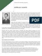 Miguel Lillo Un Naturalista Por Vocación Apuntes de Historia Natural