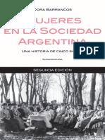 Dora Barrancos - Mujeres en La Sociedad Argentina