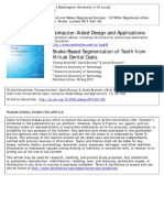 Snake-Based Segmentation of Teeth From Virtual Dental Casts