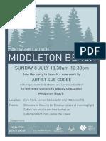 Art Work Opening Invite
