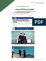 Desnuclearizacao Das Coreias Atualidades 30 04