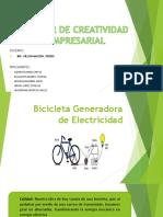 Bicicleta Generadora de Energia
