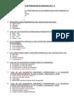 BANCO DE PREGUNTAS DE QUECHUA 2017-II 2da evaluación (2).docx