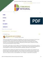 El Desarrollo Moral. Kohlberg - Blog Teoría Integral - Comunidad Integral