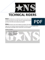 Technical Riders the GANS