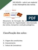 1 Formacao Classificacao Solos