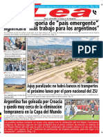Periódico Lea Viernes 22 de Junio Del 2018