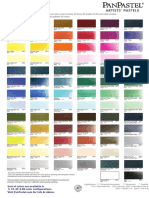 Pan Pastel Color Chart