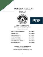 Dokumensaya.com Produktivitas Alat Berat Pada Konstruksi Pelabuhandocx