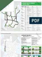 Bellevue - Priority Bicycle Corridor Project Ideas - April 2016