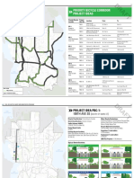 Bellevue - Priority Bicycle Corridor Project Ideas - April 2016