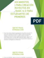 Copia de Conocimientos Previos Para Creación de Proyectos en Visual