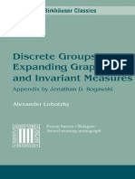 Discrete Groups, Expanding Graphs and Invariant Measures (A. Lubotzky).pdf