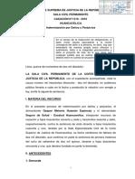 Johan  Camargo Acosta Resolución Tribunal Constitucional