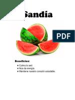Trabajo de Libro de Alimentos Para Niños Docx.