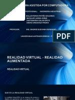 Trabajo de Investigación Realidad Virtual vs Realidad Aumentada