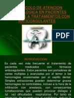 Protocolo de Pacientes Con Terapia Anticoagulante en Odontologia_INTEGRAL