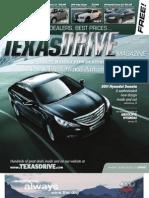 TexasDriveMagazine Sept20-Oct3 2010