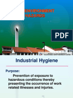 Recognition of Environmental Hazards