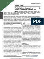Efficacy of Transoral Fundoplication vs Omeprazole for Treatment of Regurgitation in a Randomized Controlled Trial-1