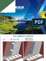 1. Voladura de Taladros Largos en Minería Subterránea UPC 2017 (O. Mauro)