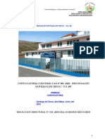 Convocatoria Cas Nº 001 2018 Stgo.chuco