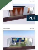 Render Casa Amoblada Con Iluminacion