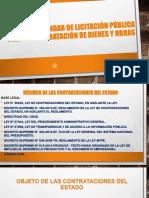 Bases Estándar de Licitación Pública Para La Contratación Siclo 7