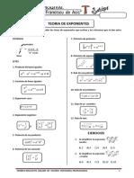 Teoria de Exponentes Primaria