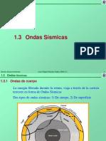 1.3 Ondas Sismicas