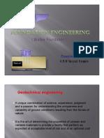 Foundation Engineering - Shallow Foundation