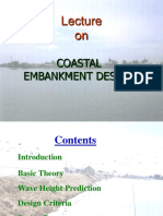 Coastal Embankment Design