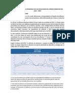 Efectos de La Política Económica en Los Resultados Del Primer Trimestre Del 2018
