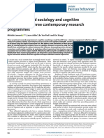 Lamont-17-Cultural Sociology and Cognitive