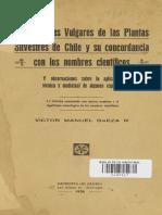 VICTOR M. BAEZA.—Los Nombres Vulgares de Las Plantas