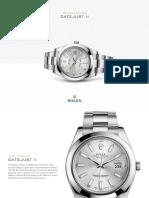 ROLEX Oyster Perpetual Datejust II - m116300-0007