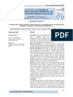 LAPAROSCOPIC TRANSA-BDOMINAL PRE-PERITONEAL MESH HERNIOPLASTY FOR INGUINAL HERNIAS