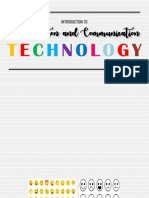 1 Introduction to Information and Communication Technology
