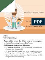 PPT Metastasis Tulang