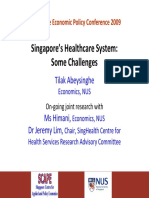 Singapore's Healthcare System