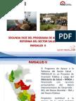 Reforma del sector salud, PARSALUD - Inés Béjar