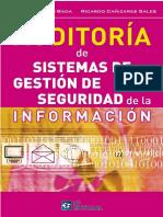 Cristina Merino Bada, Ricardo Cañizares Sales-Auditoría de Sistemas de Gestión de Seguridad de La Información (SGSI)-Fundación Confemetal (2014)